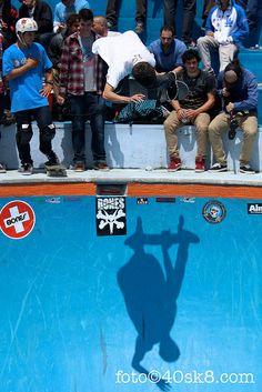 Jaime Ruiz de Gopegui en el pool de la Kantera