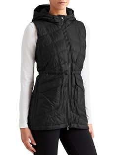Uptown Down Vest - The full CYA vest modeled after our best-selling Uptown Down Jacket gives you seat coverage for sitting down in cold outdoor places, all with a super-cute design.