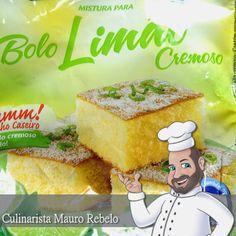 Massa de Bolo de Limão - Mauro Rebelo