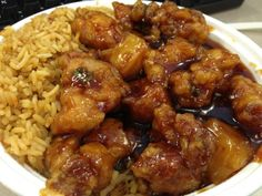 Pineapple Chicken Recipe from The Chinese Kitchen (to make a little healthier, don't batter & fry chicken, would just stir-fry it. Could maybe add some veggies too, like peppers, water chestnuts, etc.)