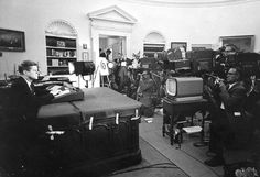 JFK during Cuban Missile Crisis 1962