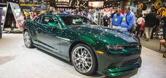 Chevy Fans Name New Camaro 'Green Flash'