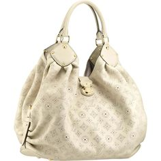 I AM IN LOVE! HAVE TO HAVE THIS PURSE! Louis Vuitton Xl Mahina Leather M93059