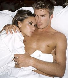 Is there a sexier couple than David and Victoria Beckam? (It's rhetorical, no there isn't.)