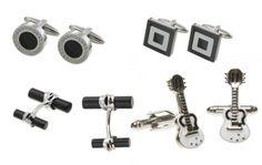 Black and White malebox cufflinks Cufflinks, Black And White, Simple, Accessories, Fashion, Moda, Blanco Y Negro, Fashion Styles, Fashion Illustrations