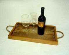 Rustic Serving Tray by HomesteadTraditions on Etsy, $36.00