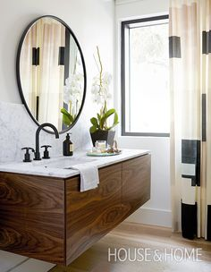 Get inspired for your next bathroom renovation with the hottest bathroom trends for 2018. | Photographer: Kim Jeffery | Designer: Shirley Meisels