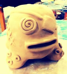 Uph pottery 1. Project 1: coin/money bank. May 2015. Ria L.