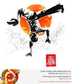 Illustration : Capoeira – 1028