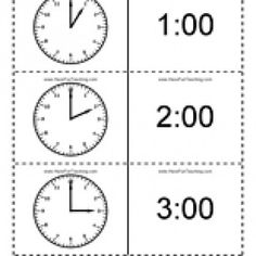 Time Flash Cards: These telling time flash cards will help teach and review telling time by the hour, half hour, and quarter hour. 48 clock flash cards included. Information: Clock Flash Cards. Time Flash Cards. Telling Time Flash Cards. Clock Flashcards. Time Flashcards.