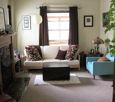 Маленькая, но уютная гостиная комната