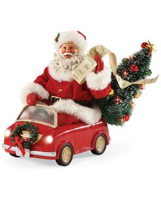 Department 56 Possible Dreams Smart Car Santa Collectible Figurine