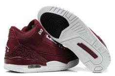 official photos c5f7e 37c76 Nike Air Jordan Cement 3 III Retro Mens Shoes 2012 New Fur Wine Red Cheap  Jordan
