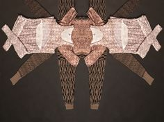 """patternprints journal: CLOTHES MORPH INTO GRAPHIC PATTERNS IN """"METAMORPHOSIS"""" PROJECT BY MAVEN"""
