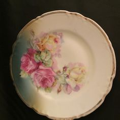 For Sale: Porcelain hand painted desert plate from Germany - #3289