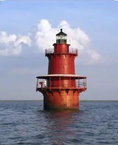 Newport News Middle Ground Lighthouse, Virginia- see it a few times a week! Lighthouse Lighting, Lighthouse Pictures, Virginia Beach, Newport News Virginia, Virginia Is For Lovers, Beacon Of Light, Destinations, Hampton Roads, Chesapeake Bay
