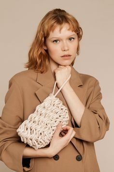 Macrame Bag, Crochet Handbags, Knitted Bags, Collection, Shopping, Patterns, Farmhouse Rugs, Tricot, Bags