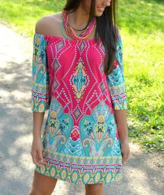 KIGO Summer Dress Casual Slash Neck Plus Size Dresses Vestido Vintage Hippie Bohemian Dress Tribal Print Boho Clothing K405