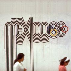 Typeverything.com - Mexico '68 byLance Wyman.