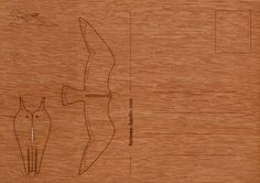 postcard wood 6 x Sea Gull / bird por formesberlin en Etsy