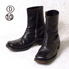 [ マルジェラ 010 ] 初期 スクエアトゥ ブーツ アーティザナル artisanal work boots • martin margiela97,000 円