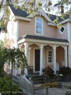 1000 Images About Pink House On Pinterest Pink Houses