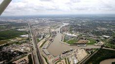 Ship Channel /the Port of Houston , Houston TX.      #BenHuynhRealtor