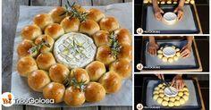 La brioche salata al Camembert è un'idea molto golosa per un aperitivo conviviale. Prendete un pezzo di soffica brioche, e immergetelo nel Camembert fuso: una delizia!
