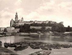 Wawel at Krakow in Poland in 1890.