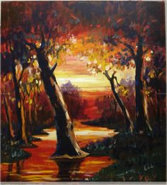 Image result for pintura de ocaso