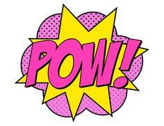 Descarga instantánea Supergirl Pow Sign - Batman Printables - Ideas of Batman Printables - Art Pop, Supergirl, Images Pop Art, Superhero Birthday Party, Batman Party, Boy Birthday, Birthday Parties, Barbie Party, Bd Comics