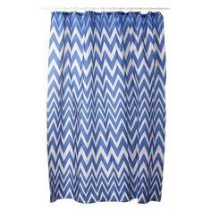 Linea Home Zig Zag Shower Curtain