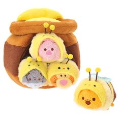 Disney Winnie the Pooh Winnie the Pooh ''Tsum Tsum'' Plush Honey Pot Set Japan Import by Disney, Toys & Games - Amazon Canada