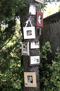 """""""Family tree"""" at Jeni & Travis' 50s wedding (saw this and loved the idea .. and the names ;] )"""