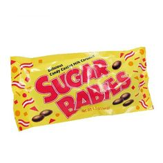 Sugar Babies - 1.7 oz by Charms Candy in Caramels | 1950's Candy at Hometown Favorites Retro and Nostalgic Candy - Hometown Favorites