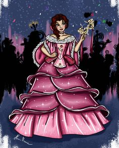 Princess Movies, Disney Princess Art, Disney Princess Pictures, Disney Pictures, Princess Belle, Disney Pics, Disney Artwork, Disney Fan Art, Disney Style