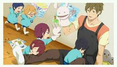 Why is this so adorable!? (And I love where Haru is)