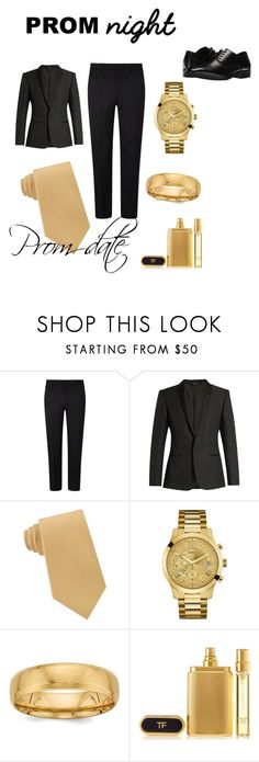 """""""prom date"""" by keirstan1111 ❤ liked on Polyvore featuring John Lewis, Dolce&Gabbana, Lord & Taylor, GUESS, Stacy Adams, men's fashion and menswear"""
