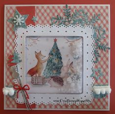 Marianne Design, Big Shot, Card Ideas, Christmas Crafts, Card Making, Tags, Frame, Winter, How To Make