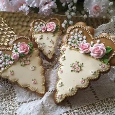 Baskets of love, cookies by Teri Pringle Wood
