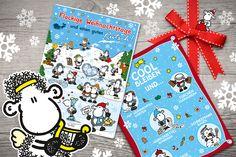 Adventskalender von sheepworld! ´Määäähr gibt es im Shop http://sheepworld.de/shop/Adventskalender/