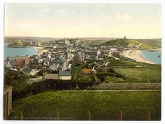 new to site Scilly Isles, Hughtown, [i.e., Hugh Town], from Garrison, Cornwall, England