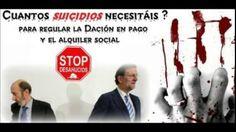 NO ES UN SUICIDIO SON CRÍMENES de crueldad insolidaridad cuando nadie te escucha ni te ayuda más de 40 años luchado con un mundo sordo y ciego que no quiere ver el  SILENCIO Y LA PASIVIDAD EL MIEDO MATA MÁS BASTA YA. Los consecutivos suicidios aumentan en España por tercer año y en el mundo Cerca de dos millones de niños pasan hambre en España. http://noesunsuicidioesunasecinato.blogspot.com.es/ http://cuandonadieteescucha.jimdo.com/