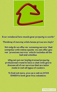 FREE VALUATION   CALL US ON 01708554659