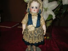 "13"" Antique Petit & Dumoutier French Doll Incised P. 2/0 D. AS IS Rare Size!!! 