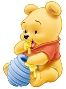 "Baby Winnie the Pooh Eating Honey. ""Winnie the Pooh and Friends"" Disney Winnie The Pooh, Winnie Pooh Baby, Winnie The Pooh Drawing, Winnie The Pooh Pictures, Winne The Pooh, Wallpaper Iphone Disney, Cute Disney Wallpaper, Cute Cartoon Wallpapers, Trendy Wallpaper"