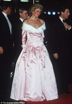 Diana in the dress at a Gala Performance by the Royal Ballet at the Berlin Opera House, Ge...
