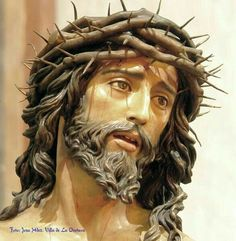 ✞Portrait of Christ ✞ - Jesus, my Lord and my Savior, Sculptures by Francisco Romero Zafra - Religious Pictures, Jesus Pictures, Jesus Face, God Jesus, Catholic Art, Religious Art, Christus Tattoo, Jesus Crown, Jesus Christ Images