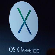 Apple Unveils New Mac OS X, Mavericks