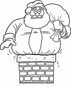 Santa Claus Coloring Pages Download